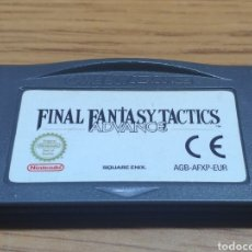 Videojuegos y Consolas: NINTENDO GAME BOY ADVANCE GBA FINAL FANTASY TACTICS. Lote 201507091