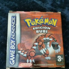 Jeux Vidéo et Consoles: POKEMON EDICION RUBÍ GBA CON CAJA. Lote 201620938