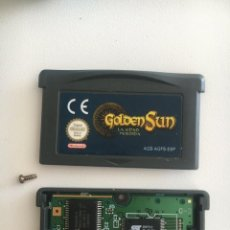 Jeux Vidéo et Consoles: JUEGO GBA ORIGINAL - GOLDEN SUN LA EDAD PERDIDA - PAL ESPAÑA GAME BOY ADVANCE ORIGINAL. Lote 202674412
