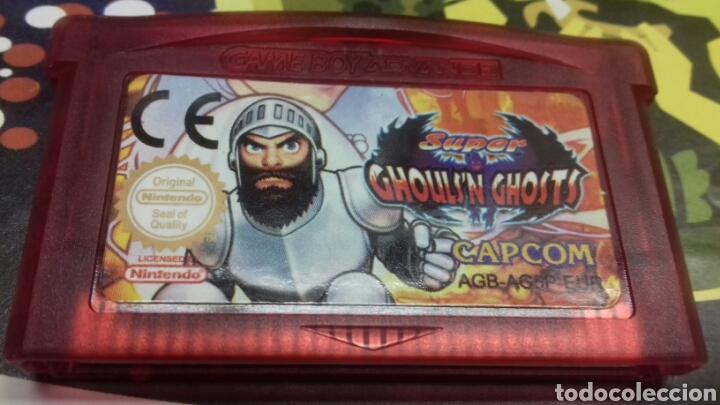 GHOULSN GHOSTS. GAMEBOY ADVANCE (Juguetes - Videojuegos y Consolas - Nintendo - GameBoy Advance)