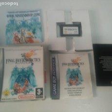 Jeux Vidéo et Consoles: FINAL FANTASY TACTICS PARA GAMEBOY ADVANCE COMPLETO ENTRE Y MIRE MIS OTROS JUEGOS. Lote 204968240