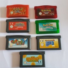 Videojogos e Consolas: ESPECTACULAR LOTE JUEGOS GAME BOY ADVANCE POKEMON SUPER MARIO. Lote 205136348