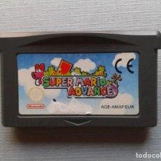 Videojuegos y Consolas: GAME BOY ADVANCE GBA SUPER MARO ADVANCE SOLO CARTUCHO PAL R11010. Lote 205261535