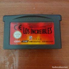 Videojuegos y Consolas: LOS INCREIBLES GAME BOY ADVANCE CARTUCHO. Lote 205734378