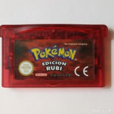 Videojogos e Consolas: POKEMON RUBÍ - NINTENDO GAME BOY ADVANCE. Lote 206383752