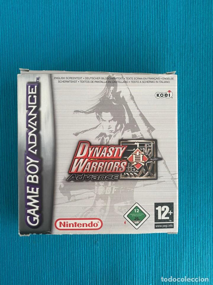 DINASTY WARRIORS GBA (Juguetes - Videojuegos y Consolas - Nintendo - GameBoy Advance)