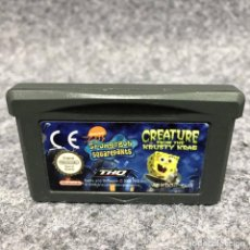 Videojuegos y Consolas: SPONGEBOB SQUAREPANTS CREATURE FROM KRUSTY KRAB NINTENDO GAME BOY ADVANCE GBA. Lote 207086593