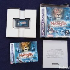 Videojuegos y Consolas: JUEGO GAME BOY ADVANCE LAS CRÓNICAS DE NARNIA. Lote 207205967