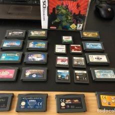 Videojuegos y Consolas: LOTE JUEGO GAME BOY ADVANCE Y NINTENDO DS. Lote 207721005