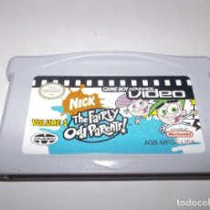 Videojuegos y Consolas: GAMEBOY ADVANCE GBA THE FAIRLY ODD PARENTS VOLUME 1 GAME BOY SERIE DIBUJOS RARO INGLES. Lote 209064530