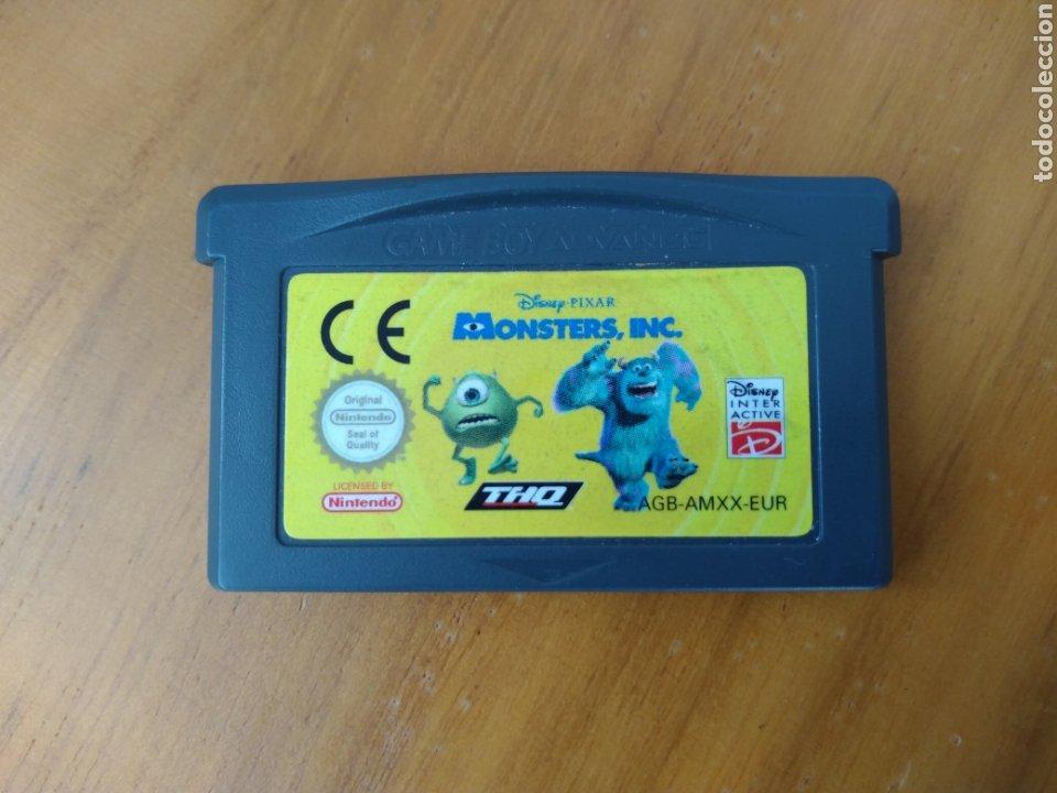 MONSTER INC. GAMEBOY ADVANCE. (Juguetes - Videojuegos y Consolas - Nintendo - GameBoy Advance)