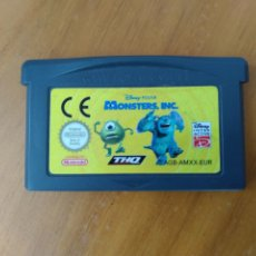 Videojuegos y Consolas: MONSTER INC. GAMEBOY ADVANCE.. Lote 209076445