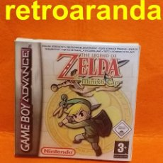 Videojogos e Consolas: THE-LEGEND-OF-ZELDA-THE-MINISH-CAP-GAMEBOY - (REPRO) + CAJA Y INTERIOR (REPRO). Lote 209621225