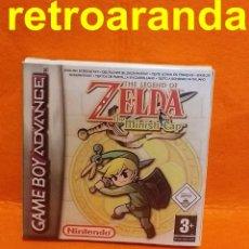 Videojogos e Consolas: THE-LEGEND-OF-ZELDA-THE-MINISH-CAP-GAMEBOY - (REPRO) + CAJA Y INTERIOR (REPRO). Lote 209621361