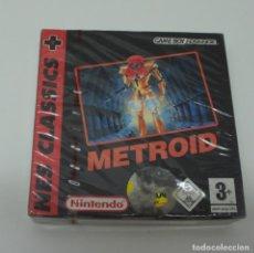 Videojuegos y Consolas: JUEGO GAME BOY ADVANCE NES CLASSICS METROID CON CAJA ORIGINAL SIN ABRIR.. Lote 210030680