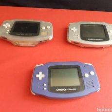 Videojuegos y Consolas: LOTE DE 3 GAME BOY ADVANCE .NO ESTAN PROBADAS. Lote 210200880