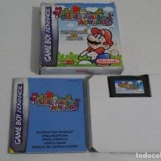 Videojuegos y Consolas: NINTENDO GAME BOY ADVANCE - SUPER MARIO ADVANCE 1 Y 2 ED. ESPAÑOLA COMPLETO. Lote 210588617