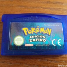 Videojuegos y Consolas: JUEGO POKÉMON EDICIÓN ZAFIRO PARA LA GAME BOY ADVANCE. Lote 210610071