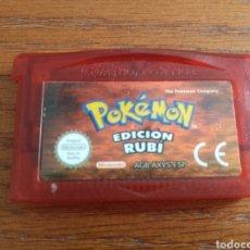 Videojuegos y Consolas: JUEGO POKÉMON EDICIÓN RUBI PARA LA GAME BOY ADVANCE. Lote 210610150