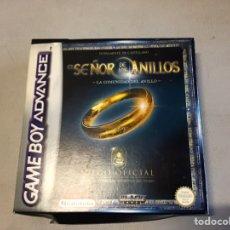 Videojuegos y Consolas: EL SEÑOR DE LOS ANILLOS GAME BOY ADVANCE. Lote 210636855