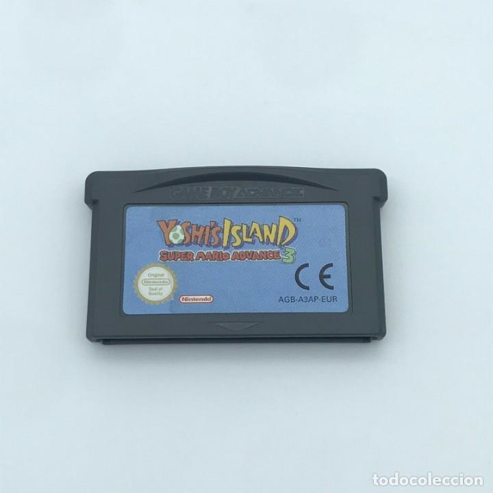 GBA SUPER MARIO ADVANCE 3 YOSHI ISLAND PAL EUR ORIGINAL GAMEBOY NINTENDO MINT JUEGO EN CASTELLANO (Juguetes - Videojuegos y Consolas - Nintendo - GameBoy Advance)