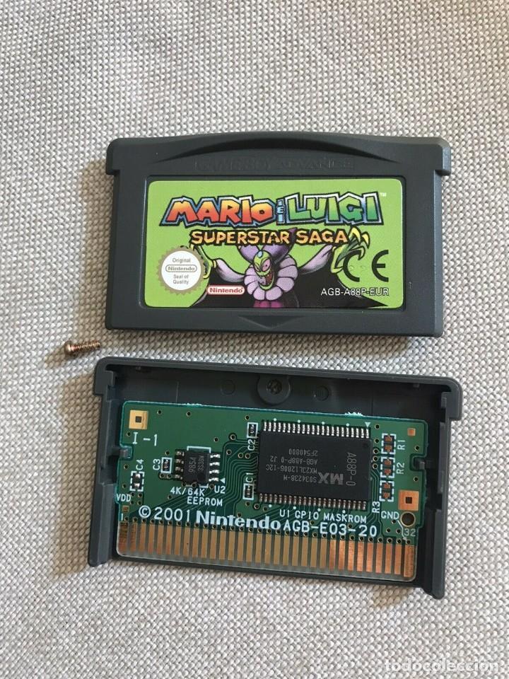 GBA MARIO & LUIGI SUPERSTAR SAGA PAL EUR ORIGINAL GENUINE MINT JUEGO EN CASTELLANO (Juguetes - Videojuegos y Consolas - Nintendo - GameBoy Advance)