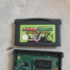 Videojuegos y Consolas: GBA MARIO & LUIGI SUPERSTAR SAGA PAL EUR ORIGINAL GENUINE MINT JUEGO EN CASTELLANO. Lote 210752205