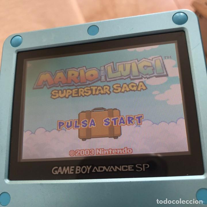 Videojuegos y Consolas: GBA MARIO & LUIGI SUPERSTAR SAGA Pal Eur ORIGINAL Genuine MINT juego en castellano - Foto 3 - 210752205