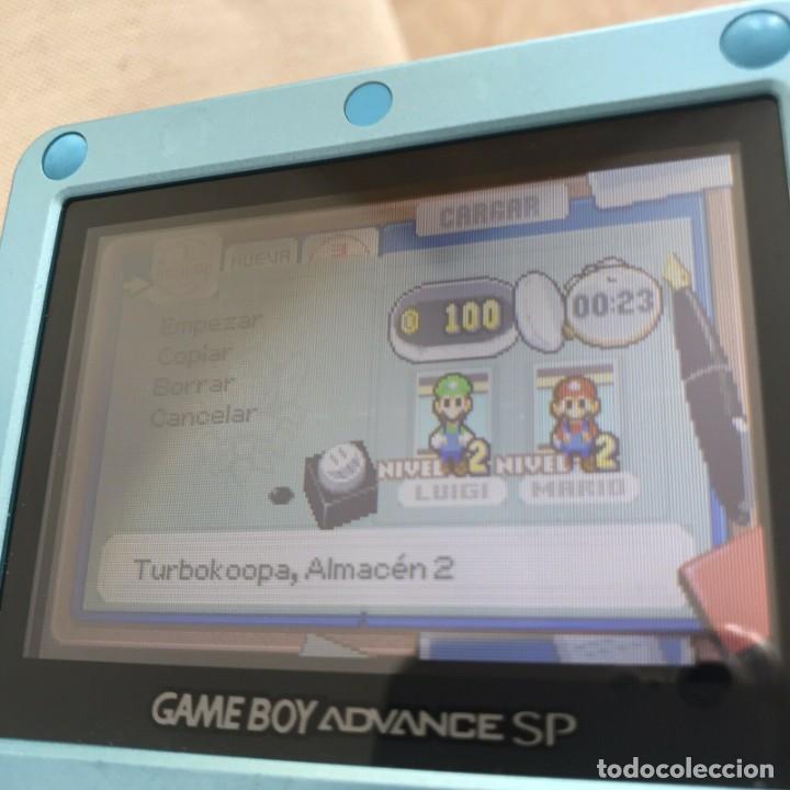 Videojuegos y Consolas: GBA MARIO & LUIGI SUPERSTAR SAGA Pal Eur ORIGINAL Genuine MINT juego en castellano - Foto 5 - 210752205