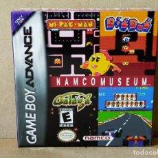 Videojuegos y Consolas: GAME BOY ADVANCE: NAMCO MUSEUM - PRECINTADO. Lote 210947235