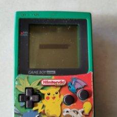 Videojuegos y Consolas: GAME BOY POCKET VERDE NINTENDO, FUNCIONANDO PERFECTAMENTE. Lote 210957629