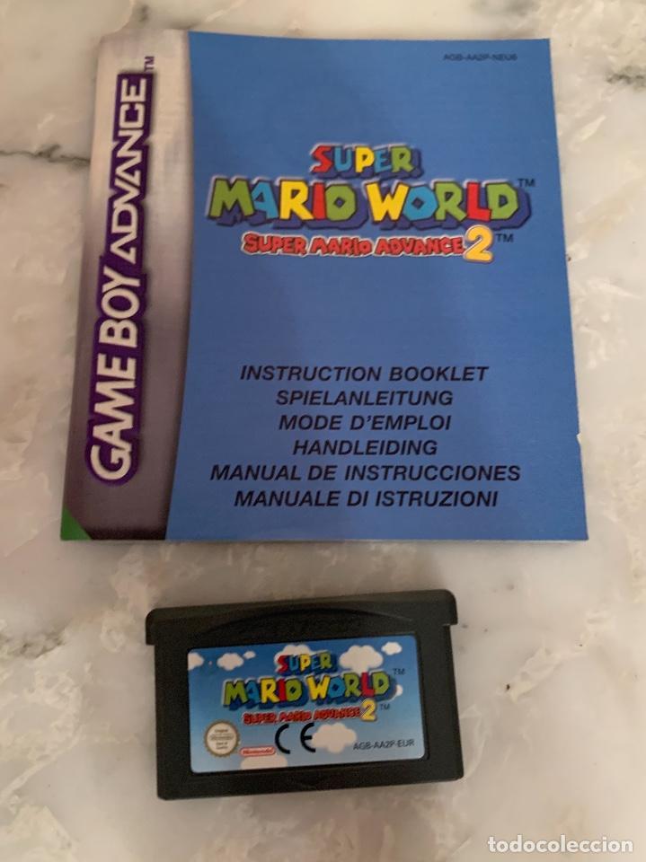 JUEGO GAMEBOY ADVANCE SUPER MARIO WORLD 2 (Juguetes - Videojuegos y Consolas - Nintendo - GameBoy Advance)