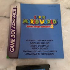 Videojuegos y Consolas: JUEGO GAMEBOY ADVANCE SUPER MARIO WORLD 2. Lote 210957827