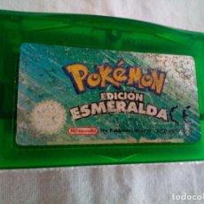 Videojuegos y Consolas: 52-GAMEBOY ADVANCE POKEMON EDICION ESMERALDA, SIN CAJA.. Lote 257557640