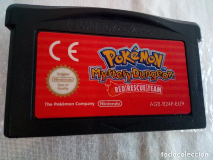 51-GAMEBOY ADVANCE POKEMON MISTERY DUNGEON, RED RESCUE TEAM, SIN CAJA (Juguetes - Videojuegos y Consolas - Nintendo - GameBoy Advance)