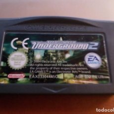Videojuegos y Consolas: JUEGO NINTENDO GAME BOY ADVANCE UNDERGROUND 2. Lote 211685045