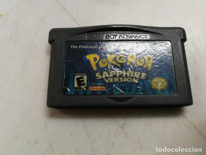 POKEMON SAPPHIRE VERSION PARA NINTENDO GAMEBOY ADVANCE EDICION USA (Juguetes - Videojuegos y Consolas - Nintendo - GameBoy Advance)