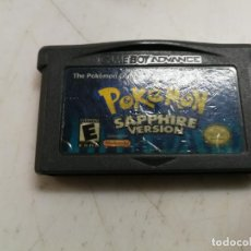 Videojuegos y Consolas: POKEMON SAPPHIRE VERSION PARA NINTENDO GAMEBOY ADVANCE EDICION USA. Lote 211937963