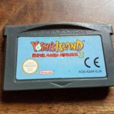Videojuegos y Consolas: CARTUCHO VIDEOJUEGO GAME BOY ADVANCE YOSHI,S ISLAND SUPER MARIO ADVANCE 3. Lote 212963106