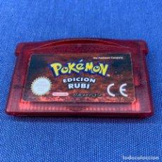 Jeux Vidéo et Consoles: VIDEOJUEGO NINTENDO GAME BOY ADVANCE - POKÉMON EDICIÓN RUBÍ. Lote 213304341