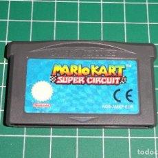 Videojuegos y Consolas: JUEGO GAME BOY ADVANCE GBA - MARIO KART SUPER CIRCUIT - PAL ESPAÑA. Lote 214015750