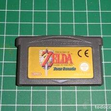 Videojuegos y Consolas: JUEGO GAME BOY ADVANCE GBA - ZELDA FOUR SWORDS - PAL ESPAÑA. Lote 214015860