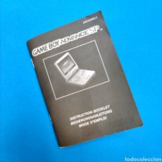 Videojuegos y Consolas: MANUAL INSTRUCCIONES GAME BOY ADVANCE SP - ENGLISH FRANÇAIS DEUTSCHE. Lote 215734091