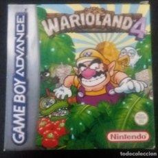 Videogiochi e Consoli: WARIOLAND 4 WARIO LAND JUEGO PARA NINTENDO GAMEBOY ADVANCE GBA COMPLETO ESPAÑA. Lote 216862681