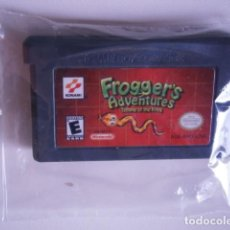 Videojuegos y Consolas: FROGGER'S ADVENTURES TEMPLE OF THE FROG GBA. Lote 217979211