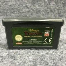 Videojuegos y Consolas: DISNEY TARZAN RETURN TO THE JUNGLE NINTENDO GAME BOY ADVANCE GBA. Lote 219188871