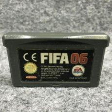 Videojuegos y Consolas: FIFA 06 NINTENDO GAME BOY ADVANCE GBA. Lote 219189032