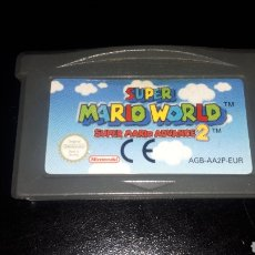 Videojuegos y Consolas: SUPER MARIO WORLD 2 JUEGO PARA GAMEBOY GAME BOY ADVANCE FUNCIONANDO. Lote 219963863