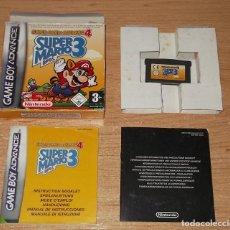 Videojuegos y Consolas: SUPER MARIO ADVANCE 4 - SUPER MARIO BROS 3 GAMEBOY ADVANCE PAL ESPAÑA COMPLETO. Lote 221299383