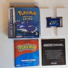 Videojuegos y Consolas: POKEMON EDICIÓN ZAFIRO NINTENDO GAMEBOY ADVANCE. Lote 221373718